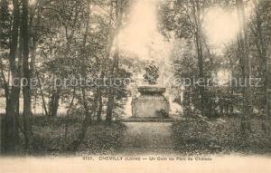 AK / Ansichtskarte Chevilly_Loiret Un coin du Parc du Chateau Chevilly Loiret