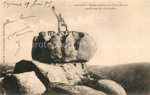 AK / Ansichtskarte Le_Sidobre Rocher tremblant de Peyre Mourou Roc des Ecuelles