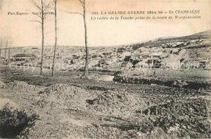AK / Ansichtskarte Wargemoulin Hurlus Grande Guerre 1914 16 en Champagne Vallee de la Troube Wargemoulin Hurlus