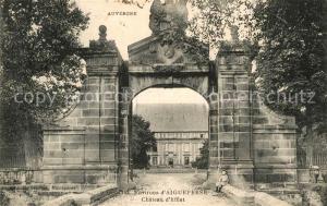 AK / Ansichtskarte Effiat Entree du Chateau Effiat