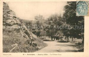 AK / Ansichtskarte Auzat_sur_Allier Ruines du Chateau Cocu Auzat_sur_Allier