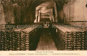 AK / Ansichtskarte Saint_Hilaire_Saint_Florent Caves Ackerman Grands Vins Mousseux