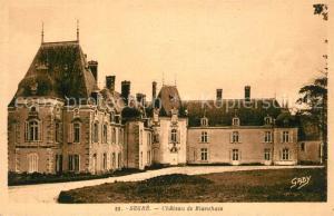 AK / Ansichtskarte Segre Chateau de Blanchais Segre