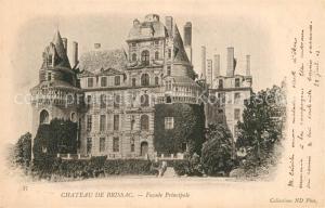 AK / Ansichtskarte Brissac Quince Chateau Facade principale Brissac Quince