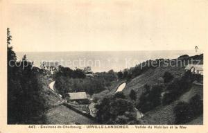 AK / Ansichtskarte Landemer Panorama Vallee du Hubilan et la Mer Landemer