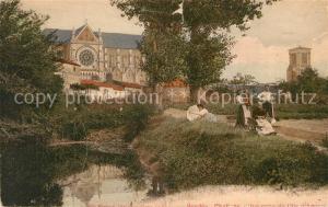 AK / Ansichtskarte Challans Vue prise d'Ile d Amour Challans