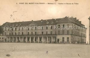 AK / Ansichtskarte Fort_du_Mont_Valerien Batiment C Cantine et Bureau de Tabac