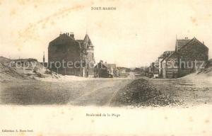 AK / Ansichtskarte Fort Mahon Plage Boulevard de la Plage Fort Mahon Plage