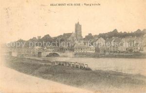 AK / Ansichtskarte Beaumont sur Oise Vue generale Beaumont sur Oise