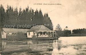 AK / Ansichtskarte Florenville Les Epioux Chalet de peche et chateau Florenville