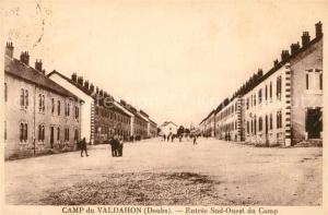 AK / Ansichtskarte Camp_du_Valdahon Entree Sud Ouest du Camp Camp_du_Valdahon