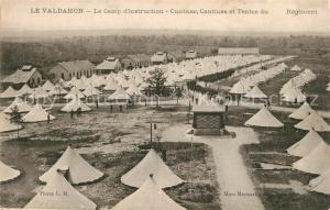AK / Ansichtskarte Le_Valdahon Le Camp d'instruction Cuisines Cantines et Tentes du Regiment Le_Valdahon