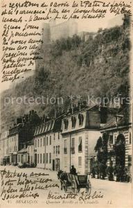 AK / Ansichtskarte Besancon_Doubs Quartier Rivotte et la Citadelle Besancon Doubs