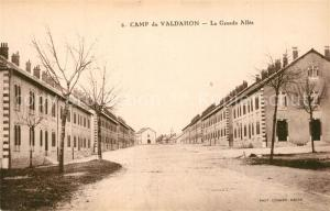 AK / Ansichtskarte Camp_du_Valdahon La Grande Allee Camp_du_Valdahon