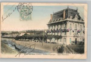 AK / Ansichtskarte Rive de Gier Caisse d Epargne Quai Fleurdelix Rive de Gier