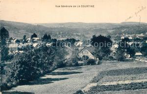 AK / Ansichtskarte La_Courtine Vue generale La_Courtine