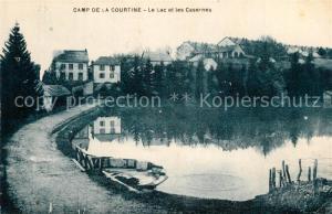 AK / Ansichtskarte La_Courtine Le Camp Lac et les casernes La_Courtine