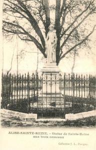 AK / Ansichtskarte Alise Sainte Reine_Alesia(Roman War) Statue de Sainte Reine aux trois ormeaux