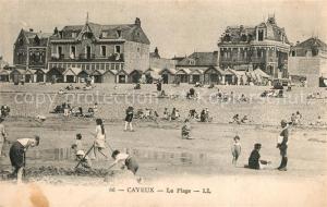 AK / Ansichtskarte Cayeux sur Mer La plage Cayeux sur Mer