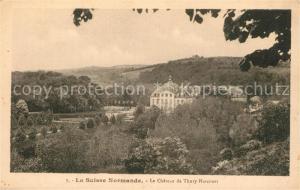 AK / Ansichtskarte Thury Harcourt Panorama vue sur le chateau Thury Harcourt