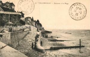 AK / Ansichtskarte Villerville_sur_Mer Descente a la plage Villerville_sur_Mer
