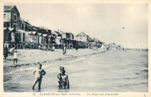 AK / Ansichtskarte Langrune sur Mer La plage Langrune sur Mer