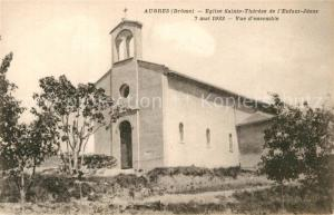 AK / Ansichtskarte Aubres Eglise Sainte Therese de l Enfant Jesus Aubres