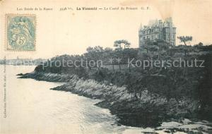 AK / Ansichtskarte La_Vicomte sur Rance Castel du Prieure La_Vicomte sur Rance