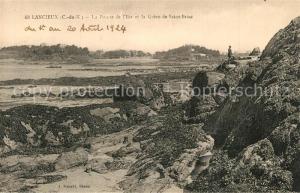 AK / Ansichtskarte Lancieux La Pointe de l Ilet et Greve de Saint Briac Lancieux