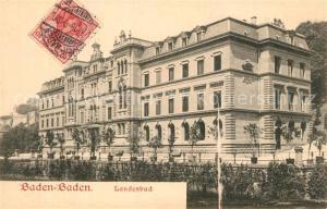 AK / Ansichtskarte Baden Baden Landesbad  Baden Baden