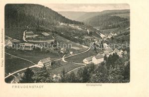 AK / Ansichtskarte Freudenstadt Christophsthal Freudenstadt