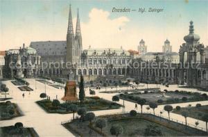 AK / Ansichtskarte Dresden Zwinger Dresden