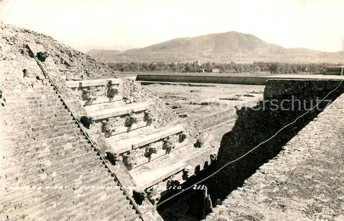 AK / Ansichtskarte Teotihuacan Panorama Teotihuacan 0