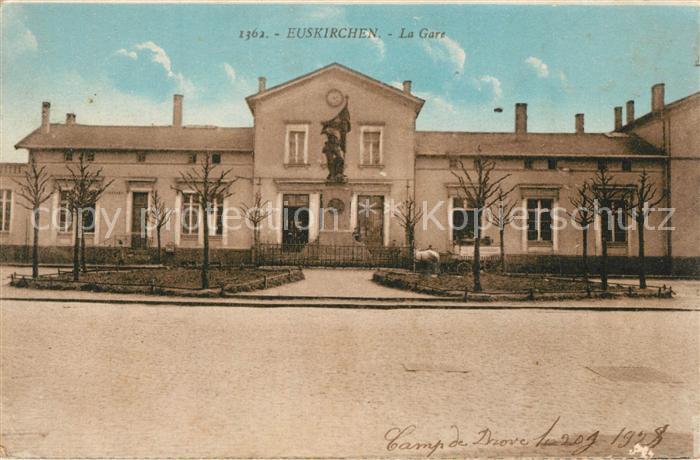 AK / Ansichtskarte Euskirchen Bahnhof Euskirchen 0