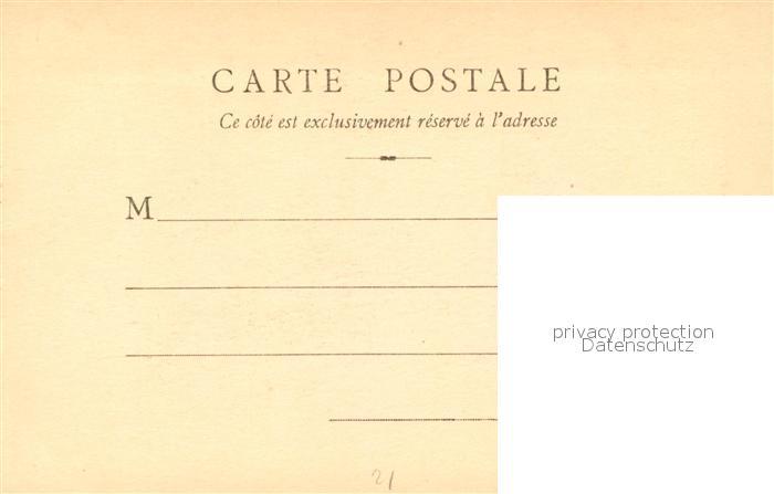 AK / Ansichtskarte Dijon_Cote_d_Or Vue du Prieure de Larrey pres la fontaine d Ouche Dessin Kuenstlerkarte Dijon_Cote_d_Or 1