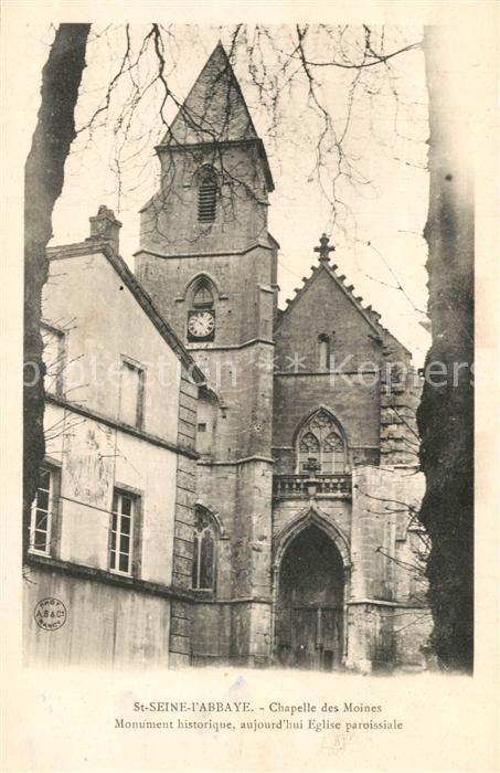 AK / Ansichtskarte Saint Seine l_Abbaye Chapelle des Moines Monument historique Eglise Saint Seine l Abbaye 0