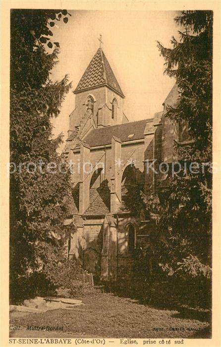 AK / Ansichtskarte Saint Seine l_Abbaye Eglise Saint Seine l Abbaye 0