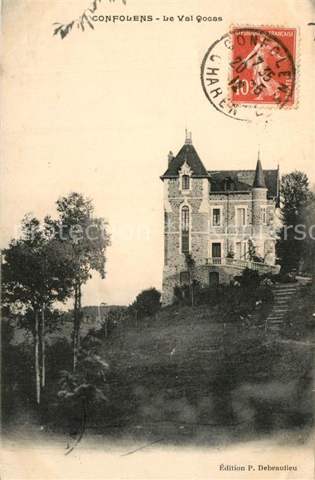 AK / Ansichtskarte Confolens Chateau Schloss Confolens 0