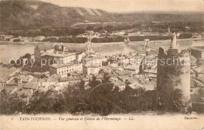 AK / Ansichtskarte Tain l_Hermitage et Tournon vue generale et coteau de l Hermitage Tain l Hermitage 0