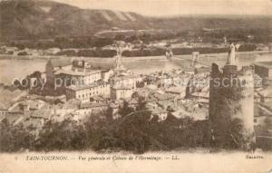 AK / Ansichtskarte Tain l_Hermitage et Tournon vue generale et coteau de l Hermitage Tain l Hermitage