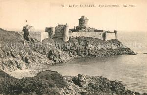 AK / Ansichtskarte Cap_Frehel_Cotes_d_Armor_Bretagne Chateau Fort La Latte Falaises Cap_Frehel