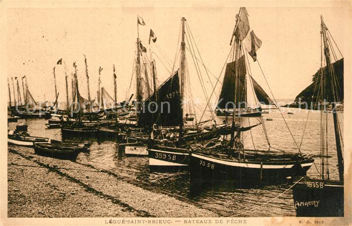 AK / Ansichtskarte Saint Brieuc_Cotes d_Armor Marina Port du Legue Bateaux de peche Saint Brieuc_Cotes d 0