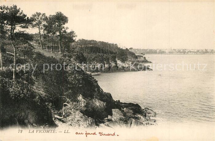 AK / Ansichtskarte La_Vicomte sur Rance Panorama La_Vicomte sur Rance 0