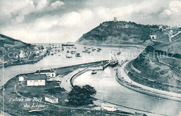 AK / Ansichtskarte Saint Brieuc_Cotes d_Armor Entree du Port du Legue Saint Brieuc_Cotes d 0