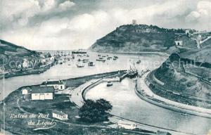 AK / Ansichtskarte Saint Brieuc_Cotes d_Armor Entree du Port du Legue Saint Brieuc_Cotes d