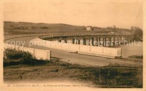 AK / Ansichtskarte Lancieux Pont sur le Fremur Lancieux