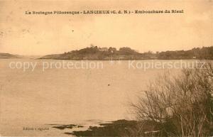 AK / Ansichtskarte Lancieux Embouchure du Rieul Lancieux