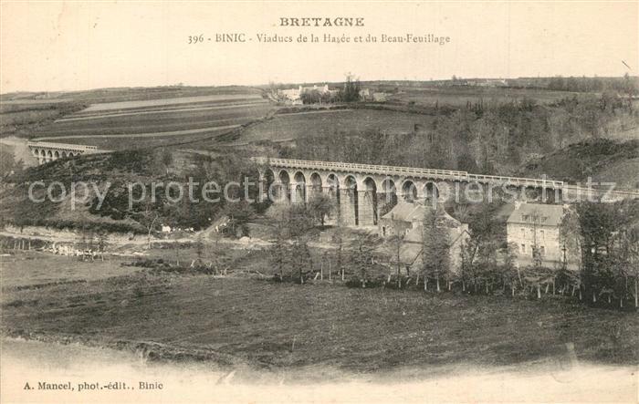 AK / Ansichtskarte Binic_Cotes_d_Armor Viaducs de la Hasee et du Beau Feuillage Binic_Cotes_d_Armor 0