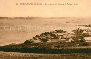 AK / Ansichtskarte Ploubazlanec Arcouest et vue generale de Brehat Ploubazlanec