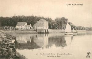 AK / Ansichtskarte Le_Montmarin Moulin de Maree aux bords de la Rance